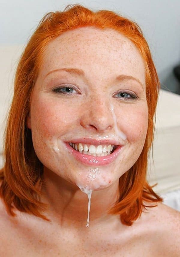 Amateur redhead get cum on face nasty interracial clips